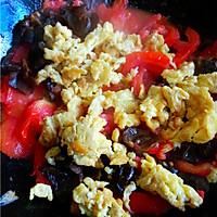 木耳番茄炒蛋的做法图解7