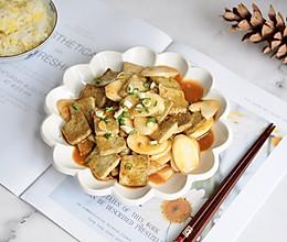 黑豆豆腐烧年糕#好吃不上火#的做法