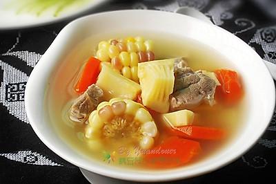 春笋玉米胡萝卜瘦肉汤