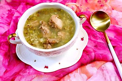 清热解毒的排骨绿豆汤