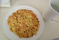 豆腐鸡蛋饼(快手早餐)的做法