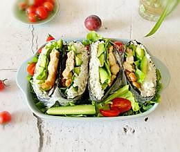 #夏日撩人滋味#减脂寿司包的做法