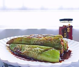 八宝煎酿青椒的做法