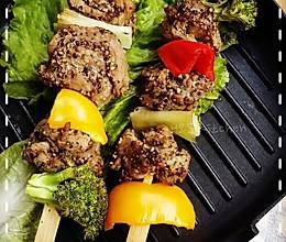 「海贼王Sanji料理」⒆七水之都の水水肉烧烤(433话)的做法