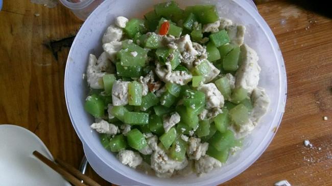 豆腐炒莴苣的做法
