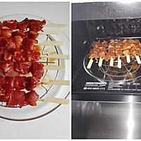 烤肉串#美的聪明火微波炉#的做法图解5