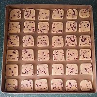蔓越莓饼干 #莓汁莓味#的做法图解9