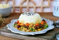 咖喱牛肉时蔬盖浇饭的做法