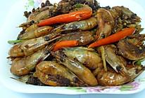 【加拿大野生北极虾】盐酥北极虾的做法