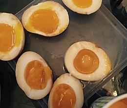 日式拉面蛋 溏心卤蛋!简单哦的做法