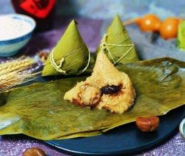 #肉食者联盟#鲍鱼冬菇栗子粽的做法