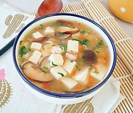 12M+鲜虾豆腐羹:宝宝辅食营养食谱菜谱的做法