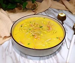 #做道懒人菜,轻松享假期#黄豆芽牛肚汤的做法