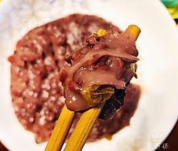 糯糯的红豆糯米糕的做法