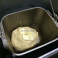 马斯卡彭全麦吐司~面包机的做法图解3