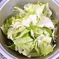 蚝油手撕西生菜的做法图解2