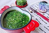 苜蓿苗素汤-草头止咳平喘补钙补铁糖尿病蜜桃爱营养师私厨的做法
