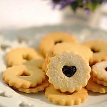 #果瑞氏#蓝莓果酱小甜饼