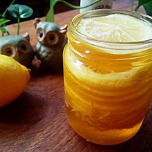 家中必备——蜜渍柠檬