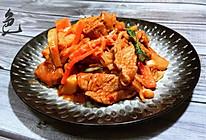 韩式辣炒猪肉的做法