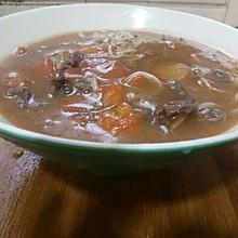 番茄金针菇牛肉汤