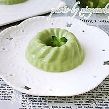美貌又美味的抹茶布丁#我要上首页清爽家常菜#
