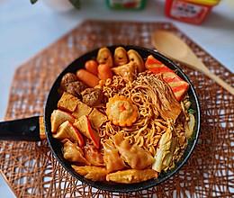 韩式火锅一人餐的做法