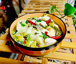 #换着花样吃早餐#川式酸菜鱼详细的做法的做法