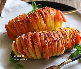 香烤风琴土豆的做法
