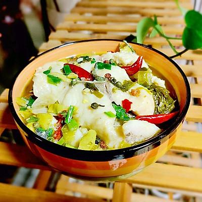 川式酸菜鱼详细的做法