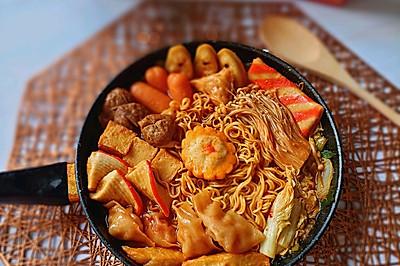 韩式火锅一人餐