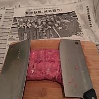 豇豆猪肉水饺的做法图解2