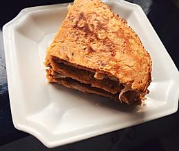 韩国美食自制泡菜做的泡菜饼的做法