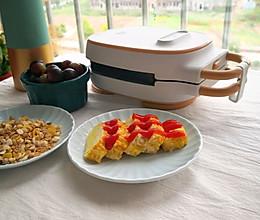 #全电厨王料理挑战赛热力开战!#早餐机版玉子烧的做法