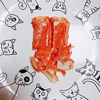 #晒出你的团圆大餐# 豆浆蟹柳蒸水蛋(经典家常粤菜)的做法图解2