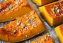 冬天不长膘系列:蜂蜜烤南瓜的做法