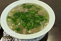 牛肉丸子萝卜丝汤的做法