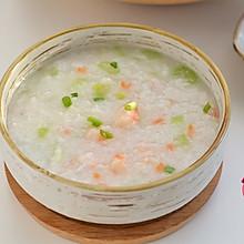 #快手又营养,我的冬日必备菜# 大虾蔬菜砂锅粥