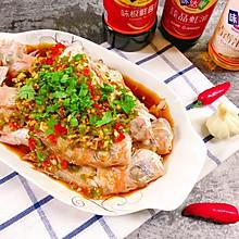 #硬核菜谱制作人#凉拌捞汁红立鱼