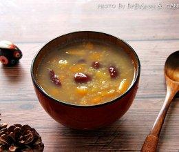 暖心暖胃红薯小米粥的做法