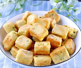 虾皮葱花小面包的做法