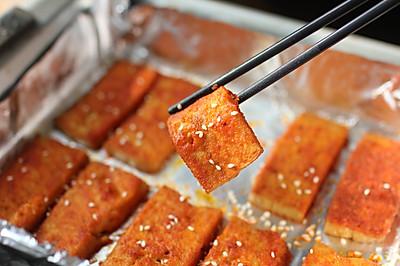快手烤箱菜——奥尔良烤豆腐