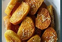 蒜香烤馒头片的做法