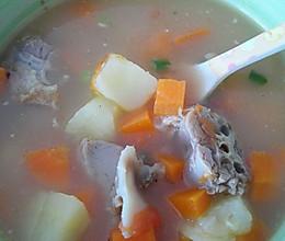 鸭架炖汤的做法