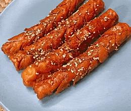 #安佳儿童创意料理# 童年炸香肠的做法