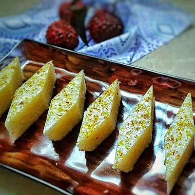 荔枝桂花糕