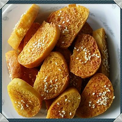 蒜香烤馒头片