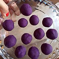 螺旋紫薯酥的做法图解4