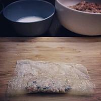 豆腐衣包肉的做法图解6