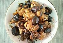 冬菜鸡腿炖蘑菇的做法